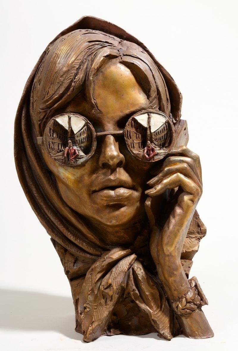 3Dscenes and sculptures in bronze