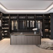 Walking closets and organizers