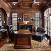 Elegant Office in a luxury home