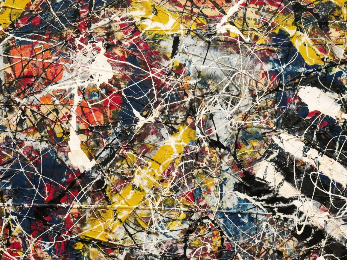 Number 17A painting by Jackson Pollock