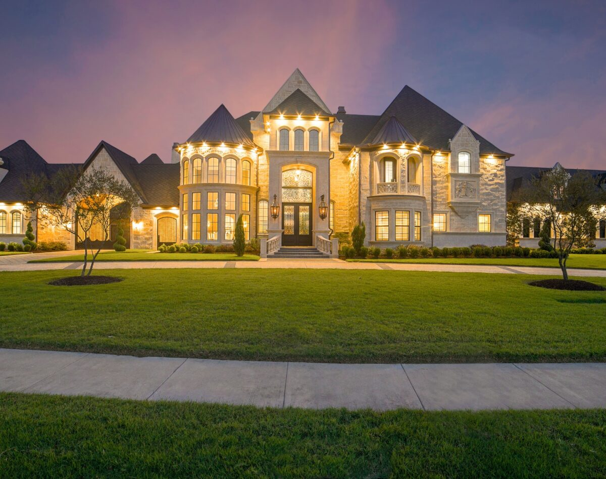 Beautiful Architecture of a Residential Home