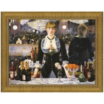 A Bar at the Folies-Bergere 1882 Canvas Replica Painting
