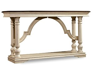 Hooker Furniture Leesburg Console Table in Beige