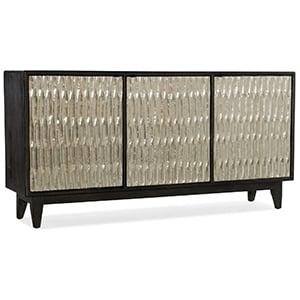 Hooker Furniture Shimmer Three Door Credenza in Silver