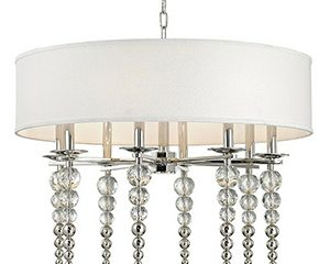 Hudson Valley Persis 8-Light Pendant in Polished Nickel
