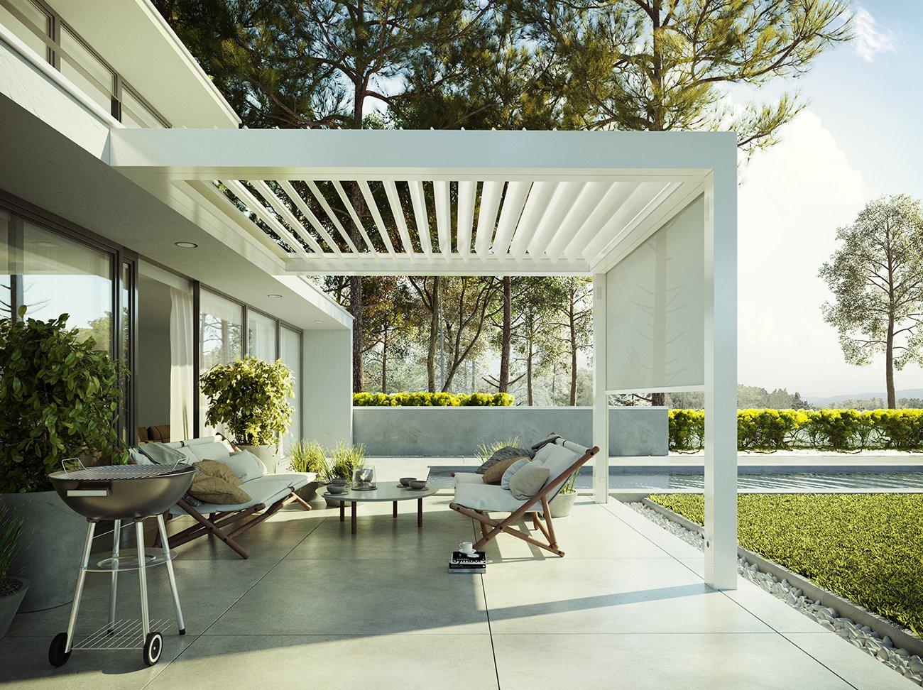 The Summer House Pergola designed by Jardin de Ville