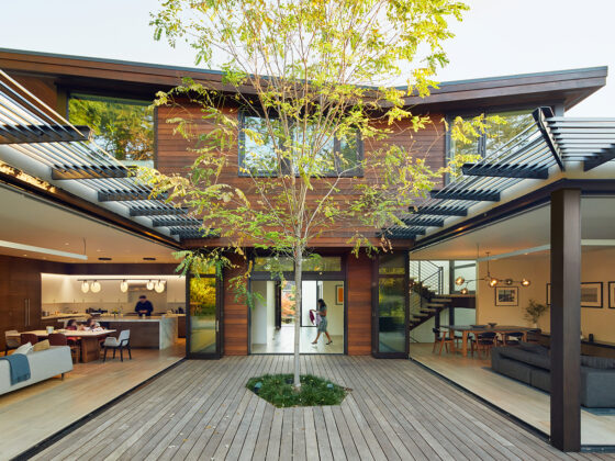 Butterfly residence by William Duff Architects (WDA)