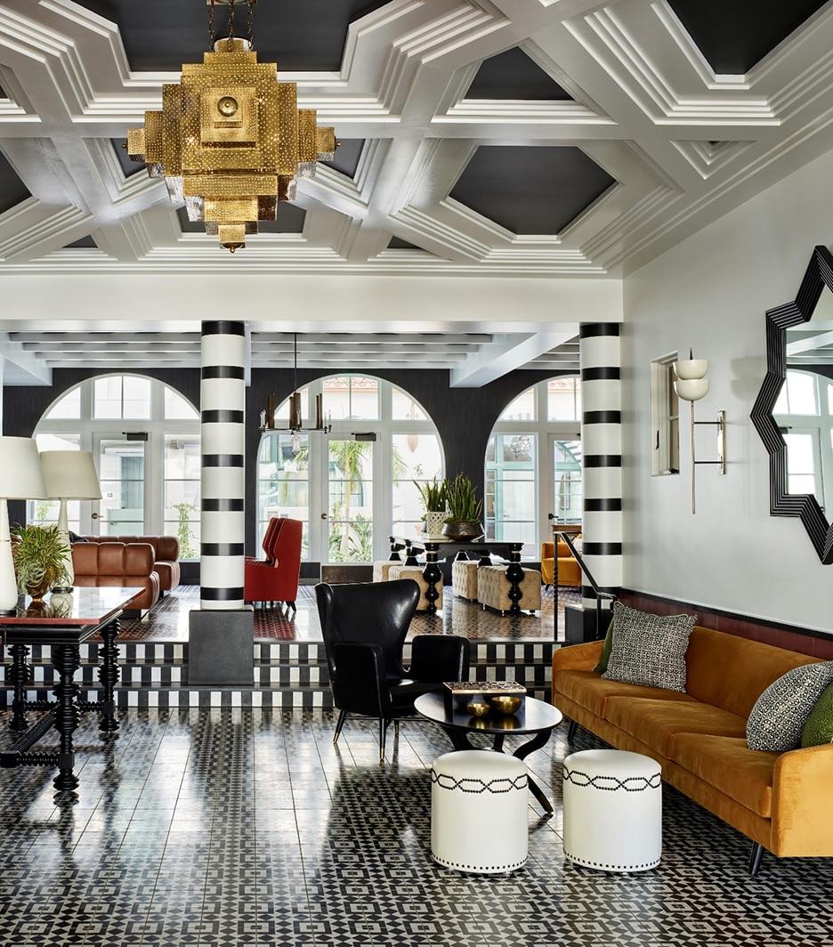 Hotel California Lobby designed by Martin Lawrence Bullard