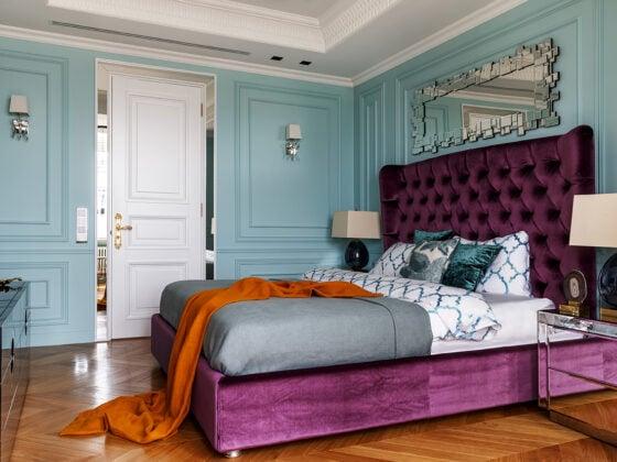 Oksana Salberg–Vachnadze Modern Apartment with a French Allure