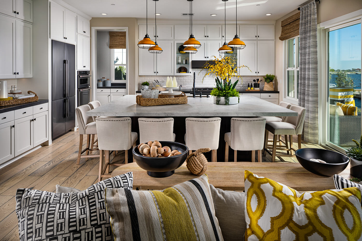 beautiful modern kitchens at Delta Coves