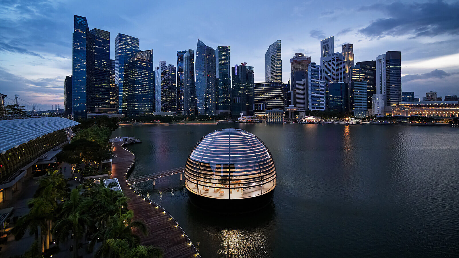 Apple NSO Marina Bay Sands store, Singapore