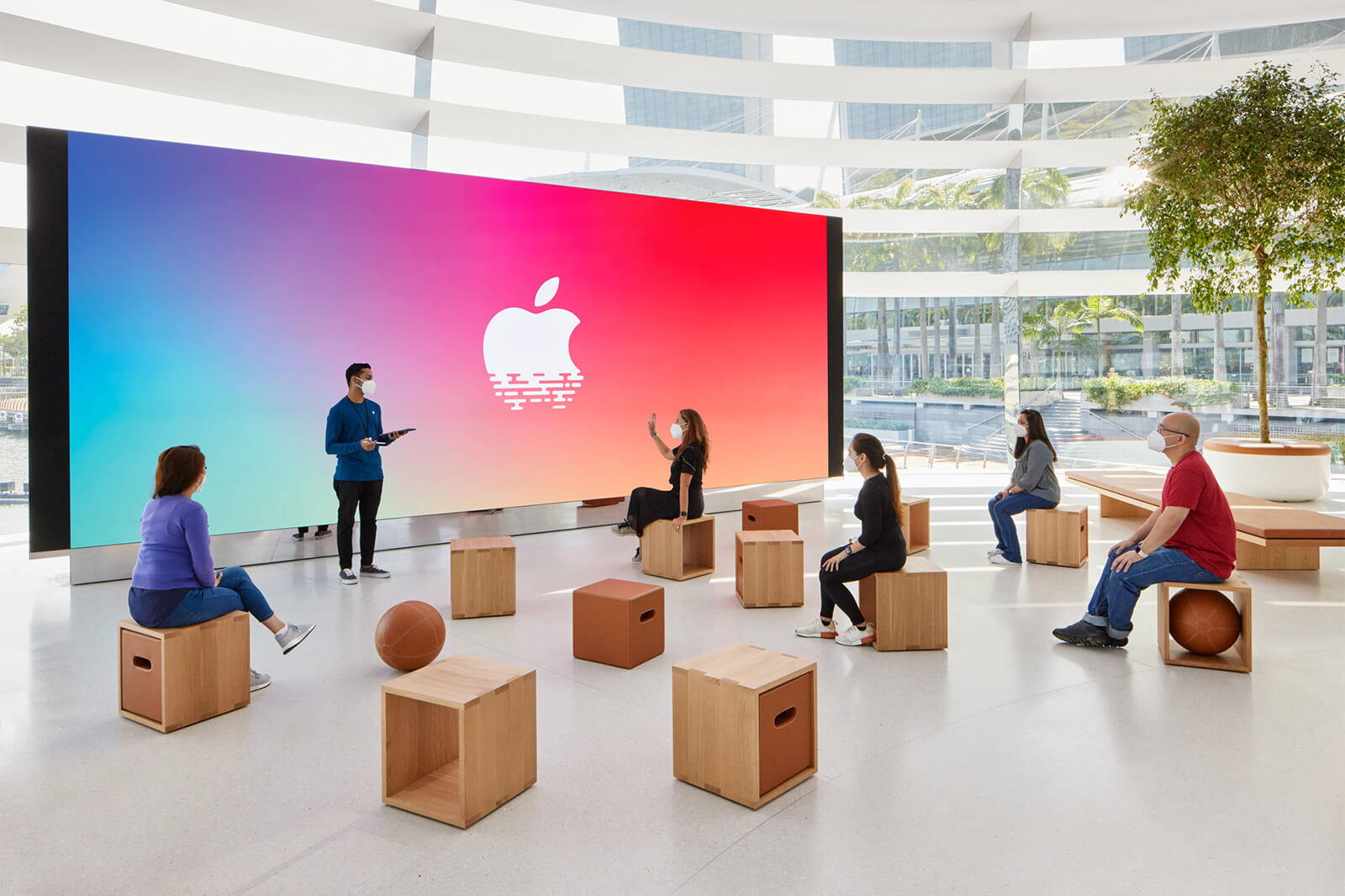 Apple NSO Marina Bay Sands store forum, Singapore