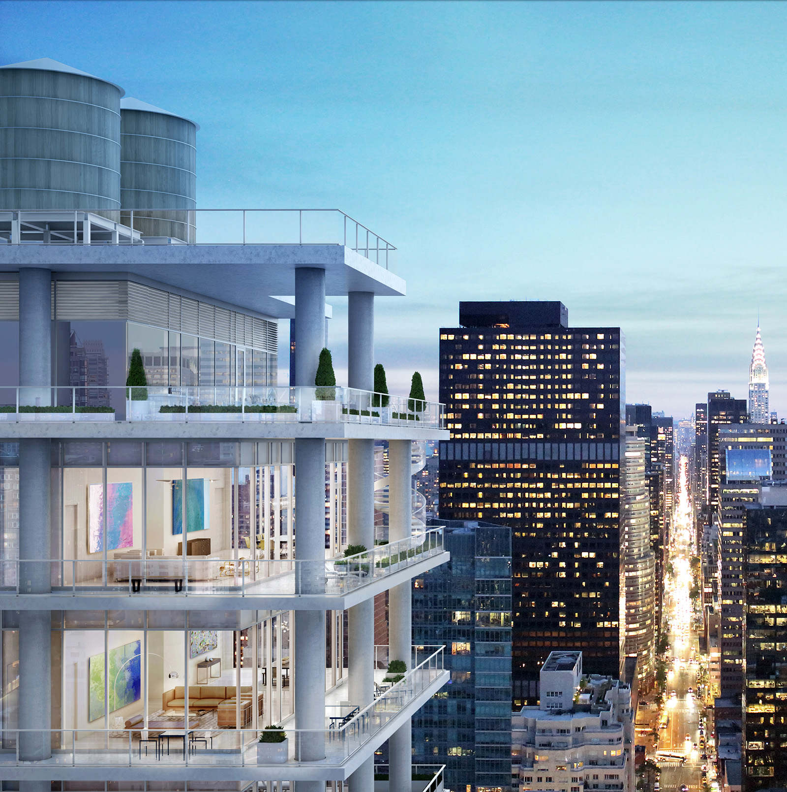Penthouse 33, The Midtown East Penthouse Living