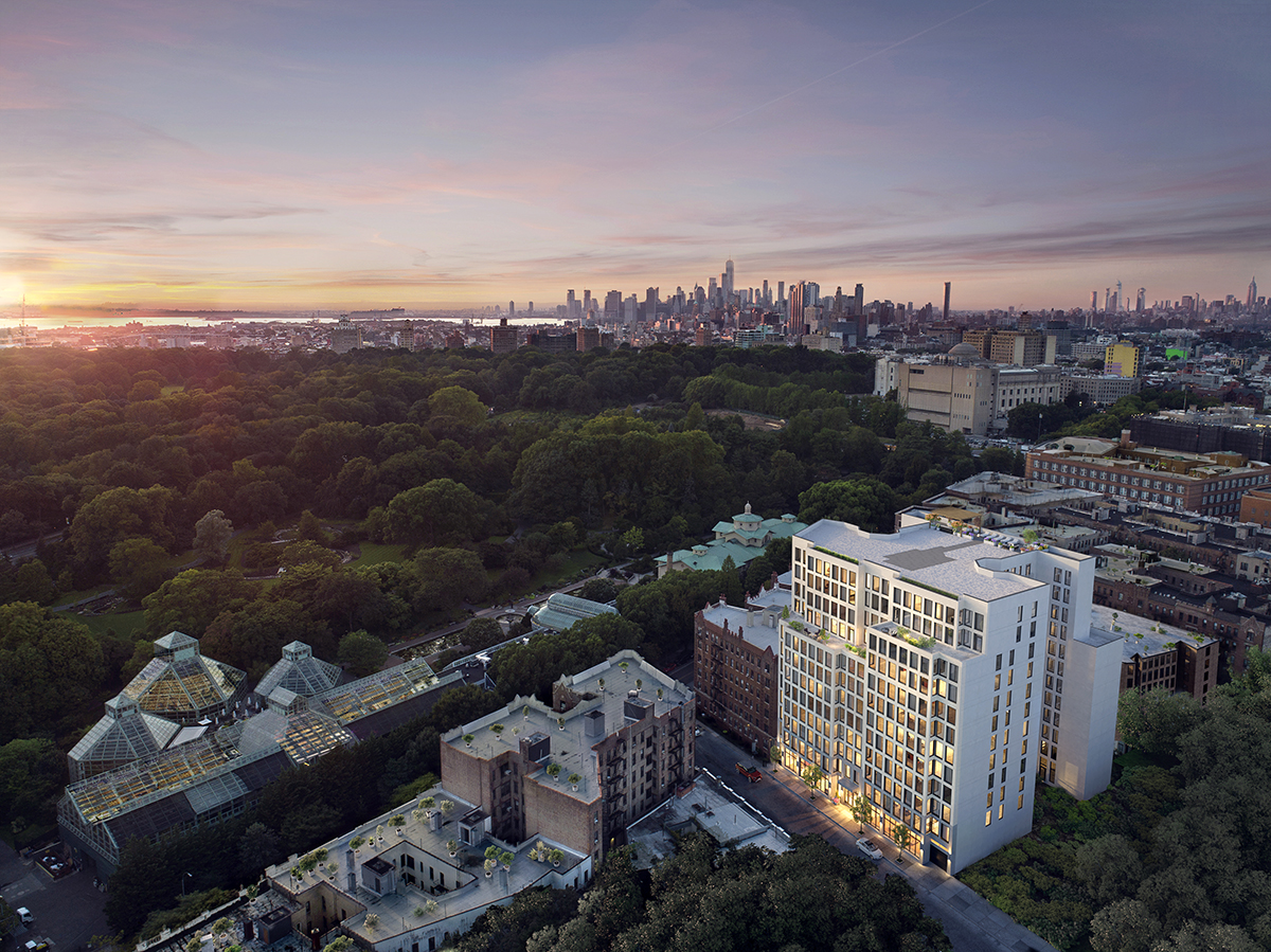 Crown Heights outdoor living apartments in Brooklyn
