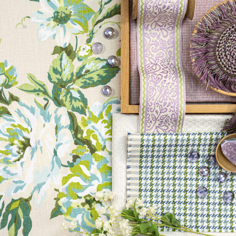 Bassett McNab's fabrics from her signature collection