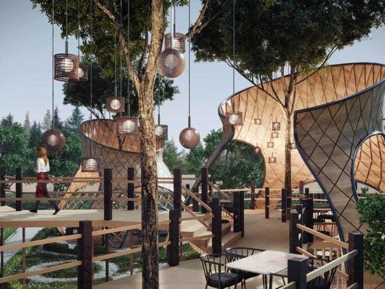 Treehouse design by Iroko Interior Design Studio